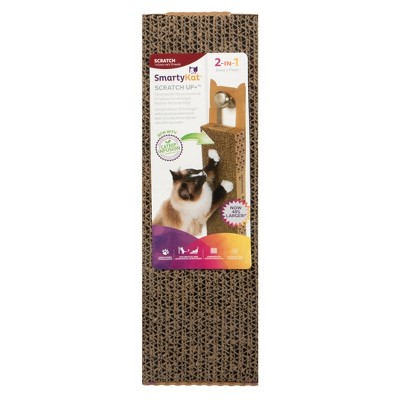 SmartyKat Scratch Up+ Catnip Infused Corrugated Hanging Cat Scratcher