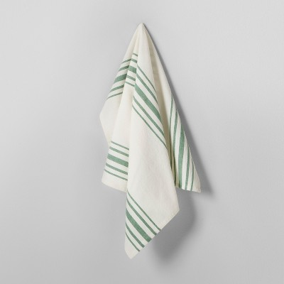 Kitchen Towel - Cream/Green - Hearth & Hand™ with Magnolia