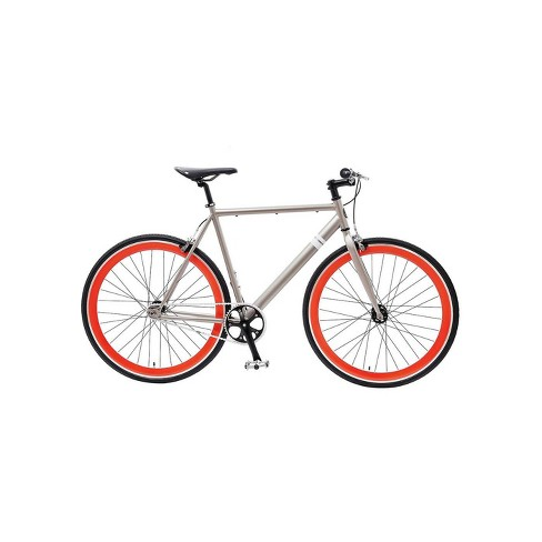 "Sole Bicycles el Tigre II Single Speed 29"" Road Bike - Silver - image 1 of 4"