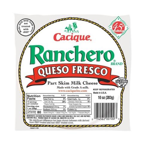 Cacique Ranchero Queso Fresco Cheese - 10oz - image 1 of 4
