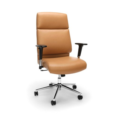 Prime Bonded Leather High Back Office Chair Camel Ofm Beatyapartments Chair Design Images Beatyapartmentscom