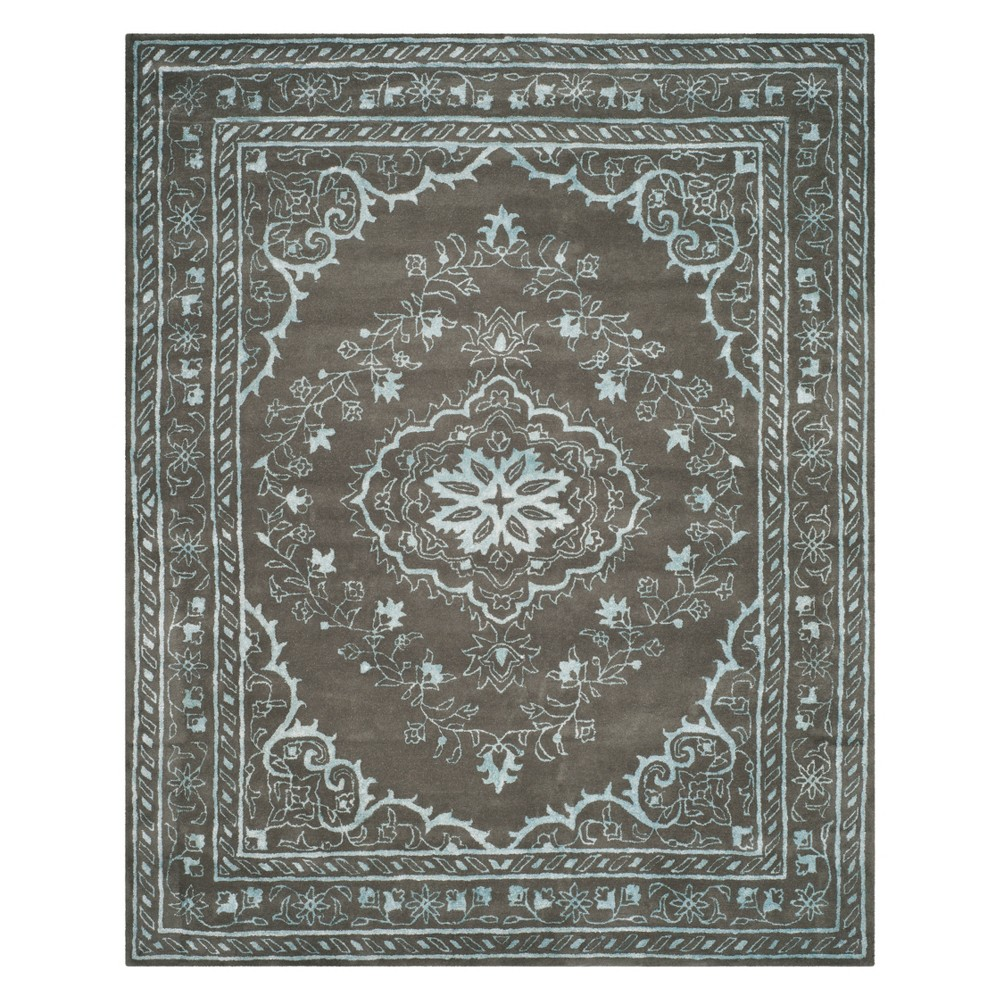 Best Online 8X10 Medallion Tufted Area Rug Dark Gray Safavieh