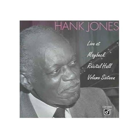 Hank (Piano) Jones - Live at Maybeck Recital Hall 16 (CD) - image 1 of 1