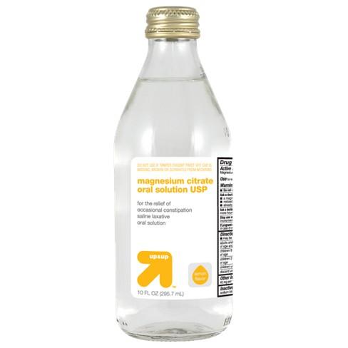 Magnesium Citrate - Lemon Flavor -10oz - Up&Up™