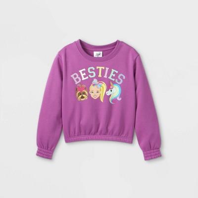 Girls' JoJo Siwa Sweatshirt - Purple
