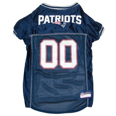 NFL New England Patriots Pets First Mesh Pet Football Jersey - Navy S