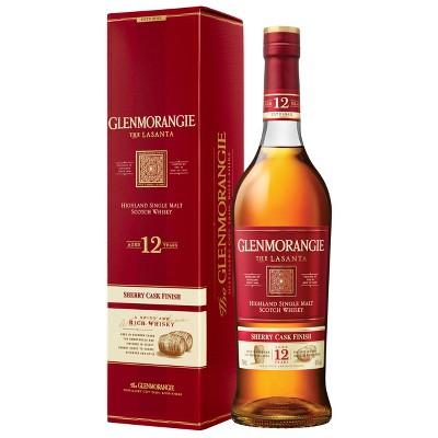 Glenmorangie The Lasanta 12yr Sherry Cask Finish Scotch Whisky - 750ml Bottle