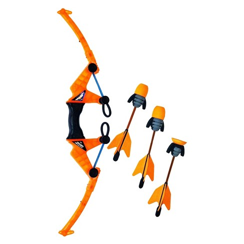 Zing Air Storm Orange Z Tek Bow and Arrow - image 1 of 1