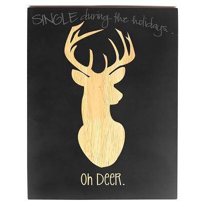 Oh Deer Chalkboard Sign