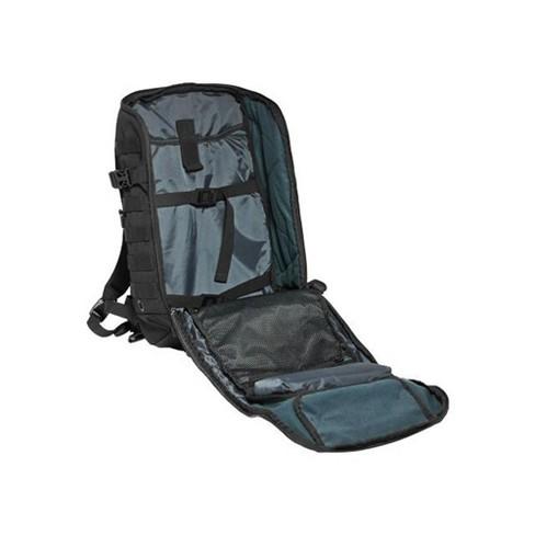 a8480b0456a Cannae Pro Gear 500D Nylon Size Medium 21 Liter Legion Day Pack Backpack,  Black