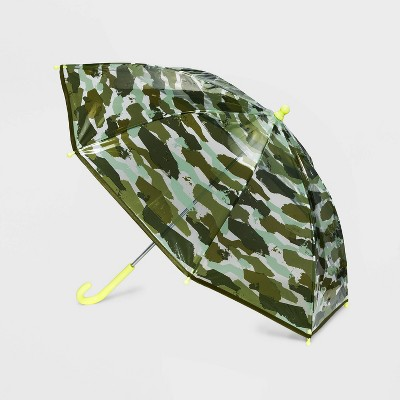 Boys' Camo Stick Umbrella - Cat & Jack™ Green