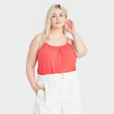 Women's Gauze Tank Top - Universal Thread™