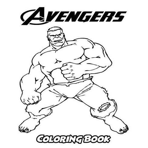Avengers Coloring Book - by Alexa Ivazewa (Paperback)
