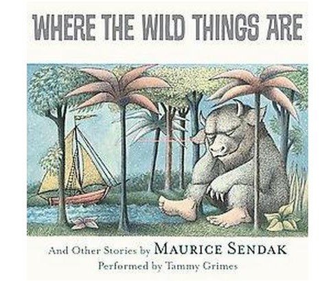 Where the Wild Things Are (CD/Spoken Word) (Maurice Sendak) - image 1 of 1