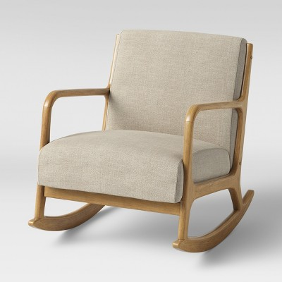 Esters Rocking Accent Chair Light Beige - Project 62™