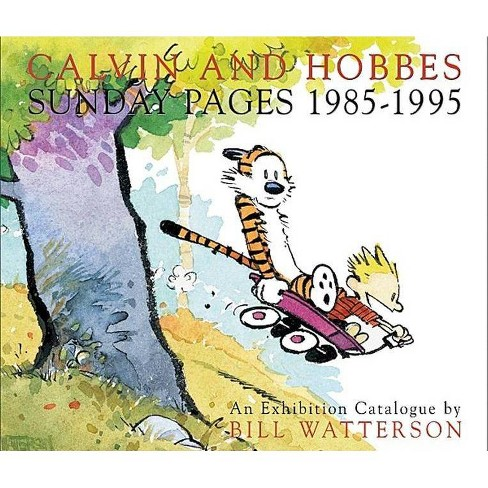 Calvin and Hobbes Sunday Pages 1985-1995 - by  Bill Watterson (Hardcover) - image 1 of 1