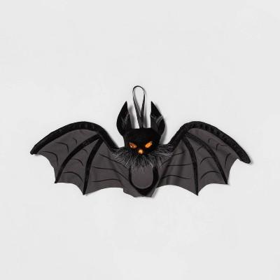 Plush Bat Black M Halloween Decorative Prop - Hyde & EEK! Boutique™