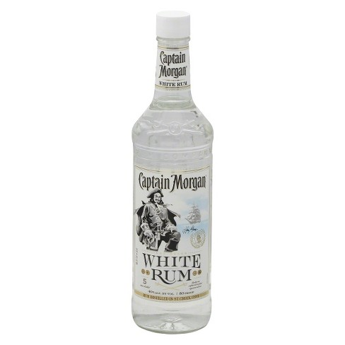 Captain Morgan® White Rum - 750mL Bottle - image 1 of 1