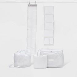 5pc Closet Set White - Room Essentials™
