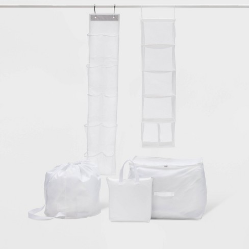 5pc Closet Set White - Room Essentials™ - image 1 of 2