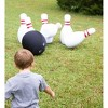 """HearthSong Giant Indoor/Outdoor Inflatable Bowling Game for Kids' with Six 29""""H Pins and 20"""" diam. Ball - image 4 of 4"""