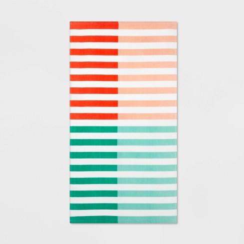 Duo Striped Warm Beach Towel - Sun Squad™ - image 1 of 2