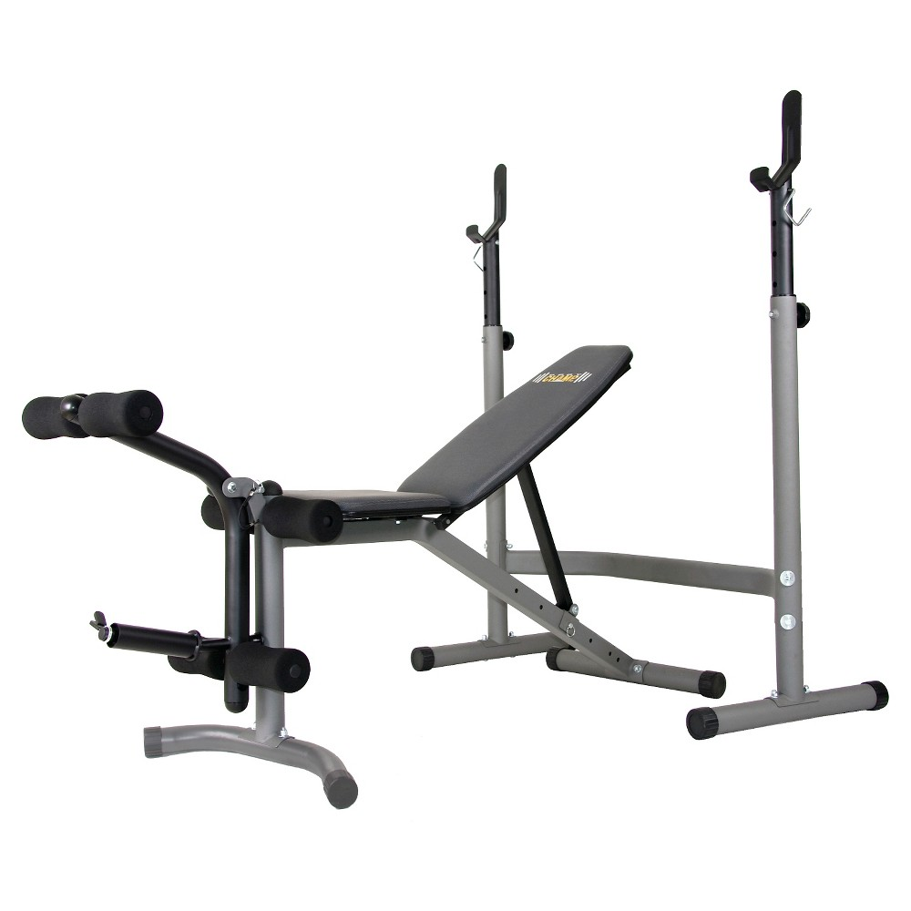 Body Champ BCB3890 Olympic Weight Bench, Multi-Colored