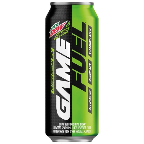 Mountain Dew AMP Game Fuel Charged Original Dew - 16 fl oz Can - image 1 of 4