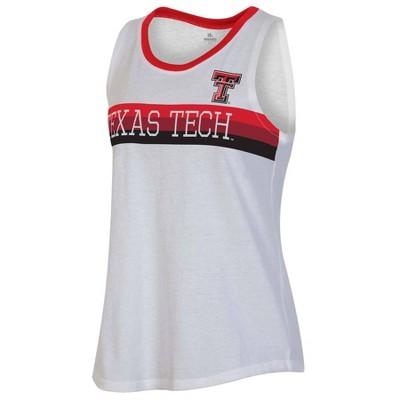 NCAA Texas Tech Red Raiders Women's White Tank Top