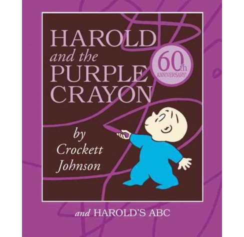 Harold and the Purple Crayon Board Book Box Set : Harold and the Purple Crayon and Harold's ABC - image 1 of 1