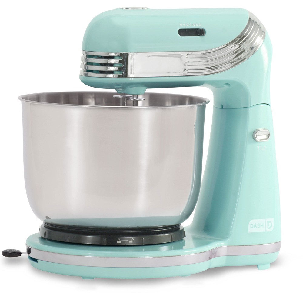 Dash Everyday 3qt Stand Mixer – Aqua (Blue) DCSM250PB 52912821