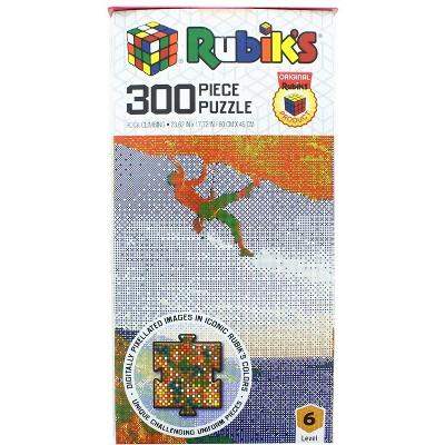 Rubik's Rock Climbing 300 Piece Jigsaw Puzzle