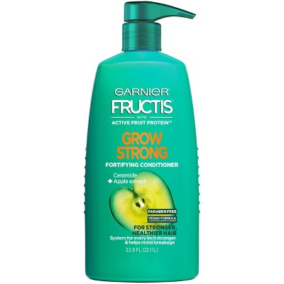 Garnier Fructis Active Fruit Protein Grow Strong Fortifying Hair Conditioner - 33.8 fl oz