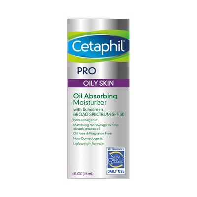 Facial Moisturizer: Cetaphil PRO Oil Absorbing Moisturizer