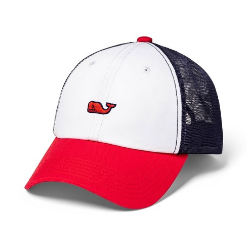 35ca5ce21322f Adult Baseball Trucker Hat - Red White Blue - Vineyard Vines® For Target    Target