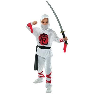 Kids' Warrior Ninja Halloween Costume