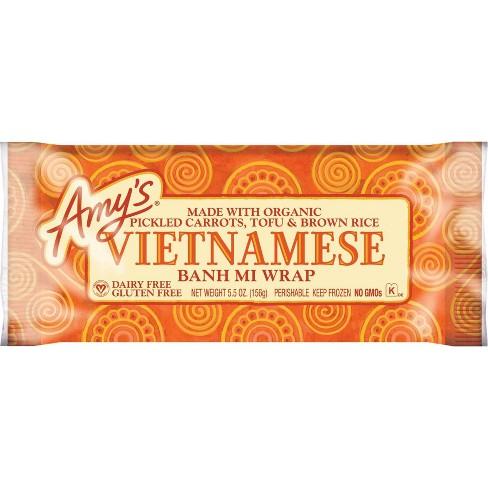 Amy's Frozen Vietnamese Banh Mi Wrap - 5.5oz - image 1 of 1