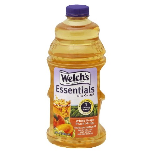 Welch's Essential White Grape Peach Mango Juice Cocktail - 64 fl oz Bottle - image 1 of 1