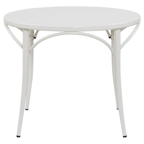 Ellie Bistro Round Table White Reservation Seating Target
