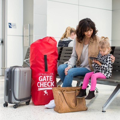 JL Childress Gate Check Bag for Umbrella Strollers, Black