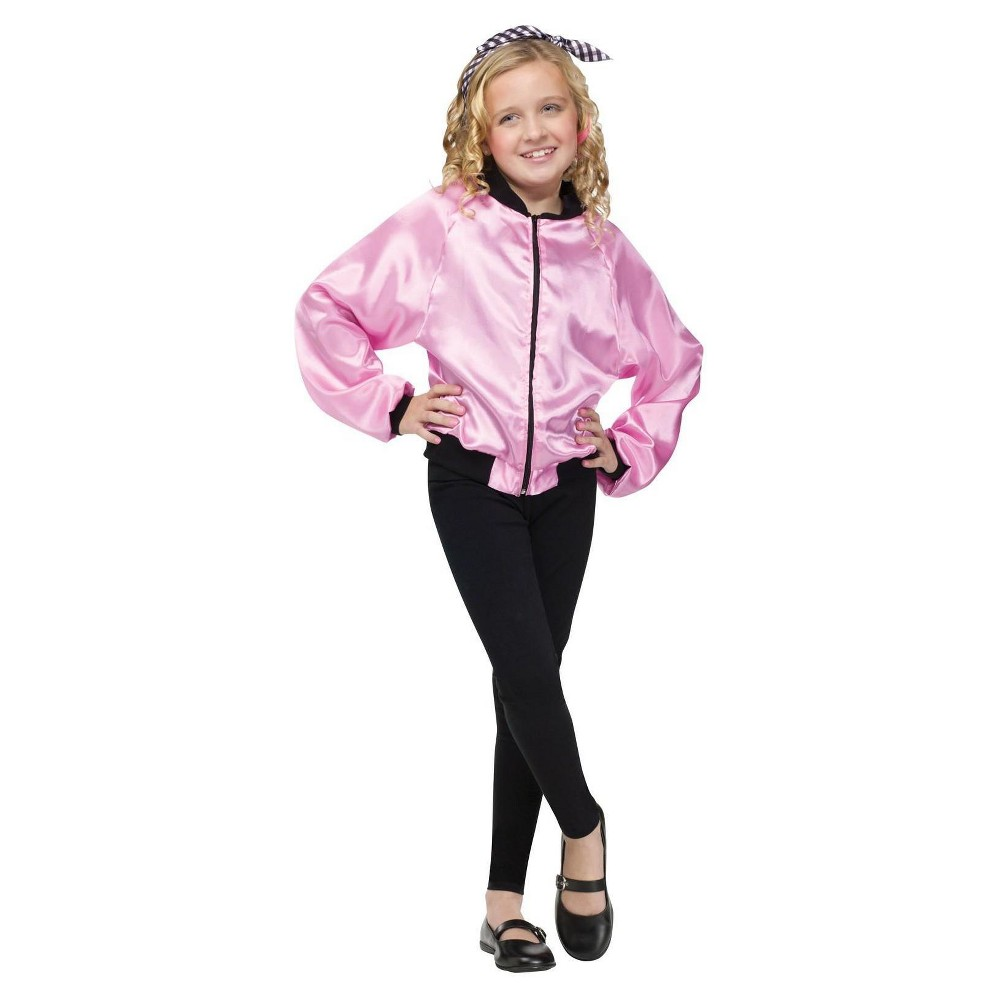 Kids 1950s Clothing & Costumes: Girls, Boys, Toddlers Girls 50s Ladies Costume Jacket - Large Multicolored $32.99 AT vintagedancer.com