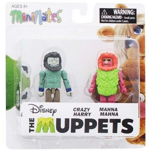 Diamond Comic Distributors, Inc. Muppets Minimates Series 2 2-Pack: Crazy Harry & Mahna Mahna - image 1 of 2