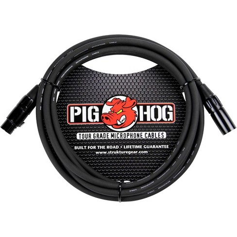 Pig Hog Microphone Cable 8mm XLR(M) to XLR(F) - image 1 of 2
