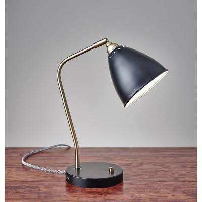 Chelsea Desk Lamp Black - Adesso
