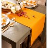 Heavyweight Fringed Table Set Pumpkin Spice - Design Imports - image 4 of 4