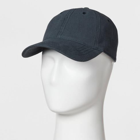 Men's Curve Brim Baseball Hat - Goodfellow & Co™ Gray - image 1 of 2