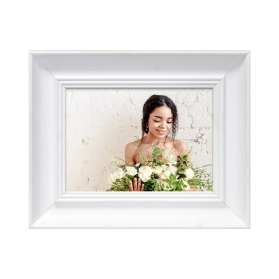 Single Image Frame White 5 x7  - QIK FRAME™