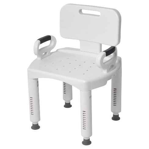 Drive Medical Premium Series Shower Chair with Back and Arms - image 1 of 4