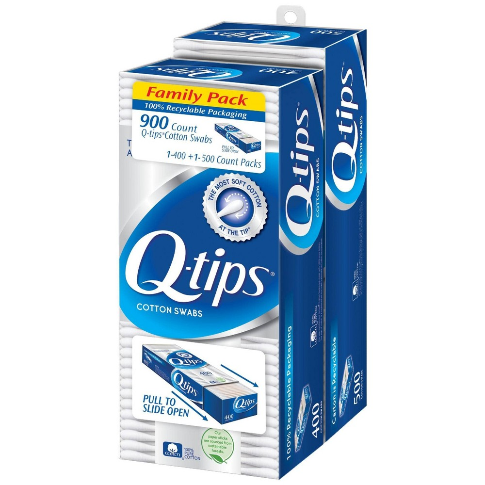 Image of Q-TIPS 900ct Cotton Swabs