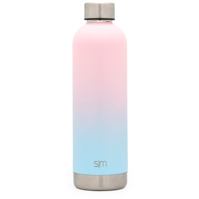 Simple Modern Bolt 25oz Stainless Steel Water Bottle Ombre Blush/Blue